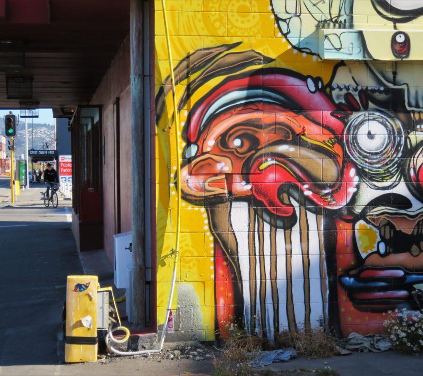Grafitis en Christchurch