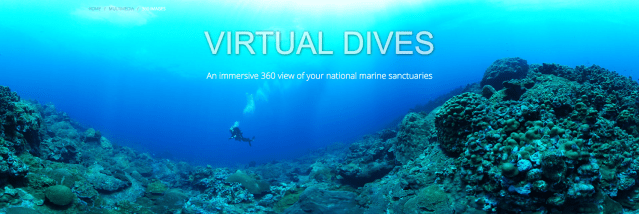 Virtual Dives - An immersive 360 view of your national marine sanctuaries