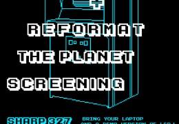 Chiptunes Workshop + Reformat the Planet Screening