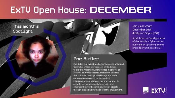 ExTV Presents: Monthly Student Artist Spotlight (November/December)