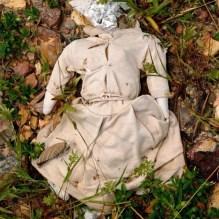 Ex-voto analógico humano costurado em tecido. Cruzeiro/Morro dos Três Irmãos, Jaicós-PI. 18/abr/2011