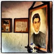 Retrato do Padre José Antônio de Maria Ibiapina, Santuário da Santa Fé do Padre Ibiapina, Arara-PB. 16/fev/2013