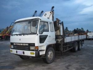 Mitsubishi FV418P Truck Mounted Crane