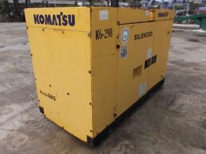 Komatsu EG35BS-1 Generator Set 30kva