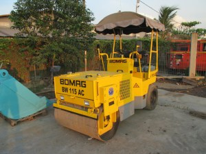 Bomag BW115AC Combination Roller 2.5 ton
