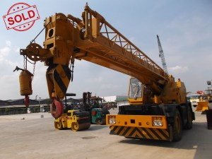 Rough Terrain Crane Tadano TR250M-3