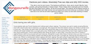 Screenshot bangyourwife.com
