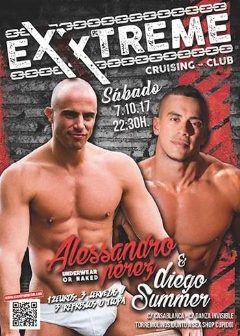 7 Octubre - Alessandro Pérez y Diego Summer en Exxxtreme