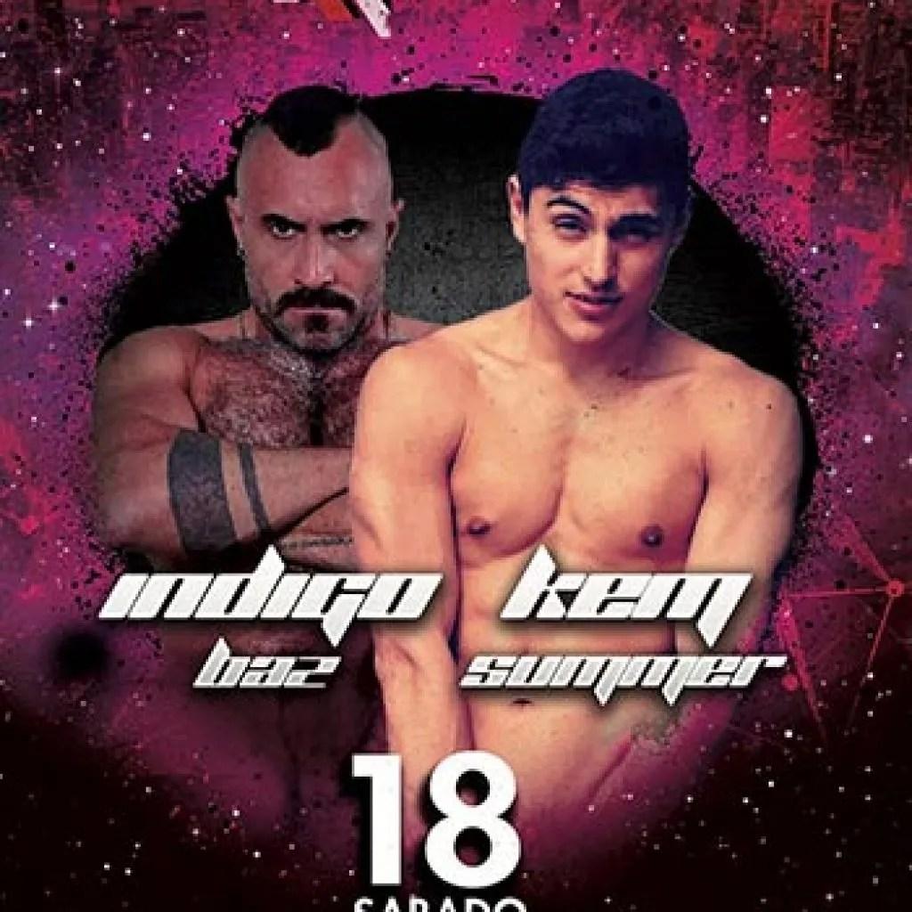Indigo Baz y Ken Summers el sábado 18 de noviembre en Exxxtreme