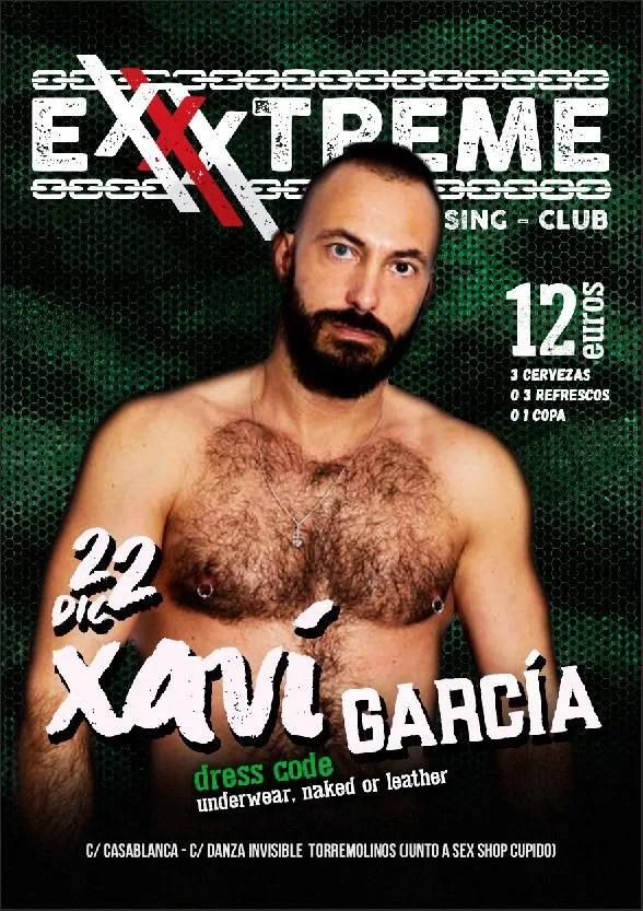 22 de diciembre Xavi García en EXXXTREME