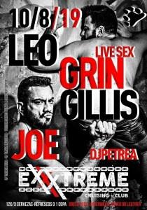 Leo Grin y Joe Gillis el próximo 10 de agosto e EXXXTREME
