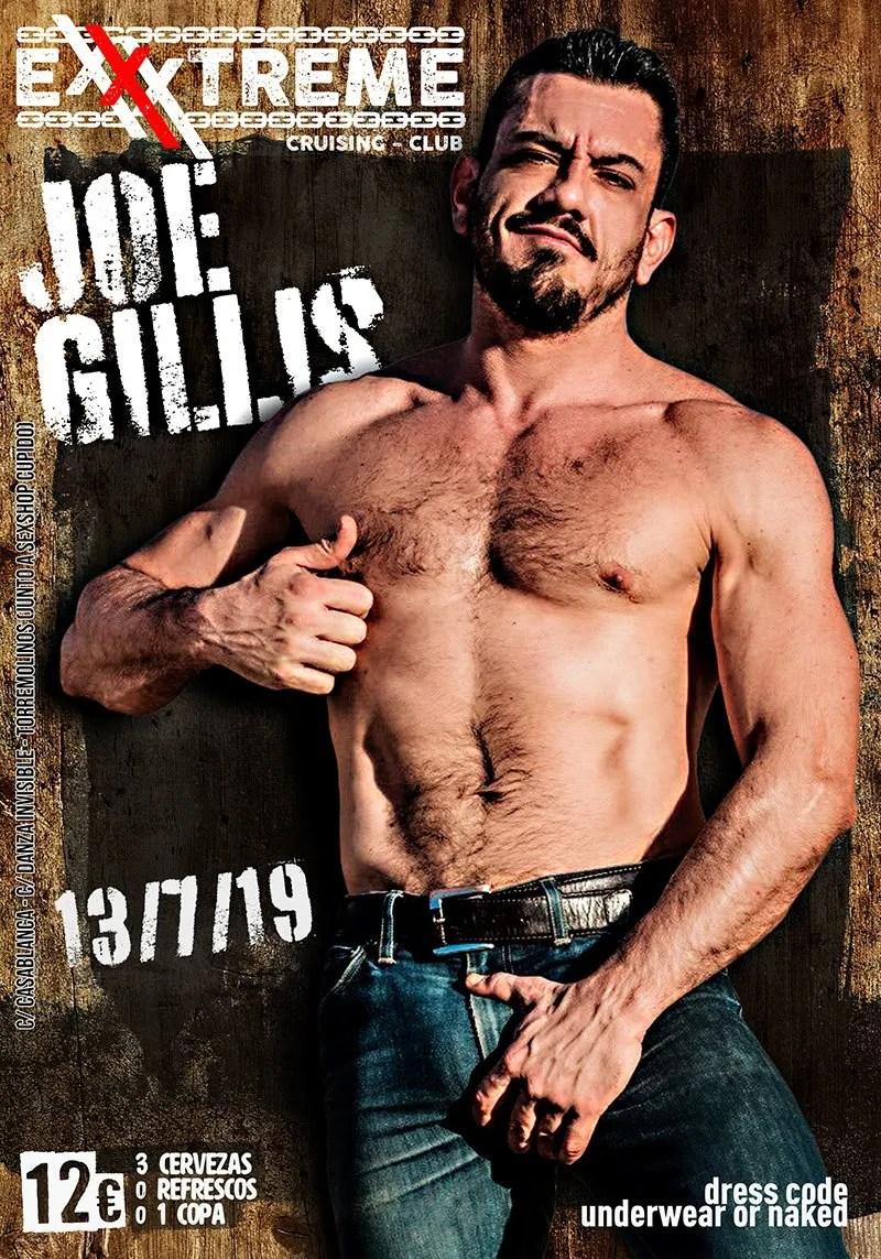 JOE GILLIS el 13 de julio en EXXXTREME