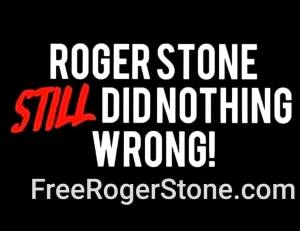 Free Roger Stone Poster 12 18 2019