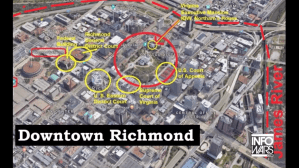 Richmond Virginia map 1 16 2020 1