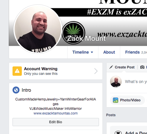 Zack Mount EXZM Facebook Banning Warning Infowars Coronavirus Hoax June 30th 2020 1