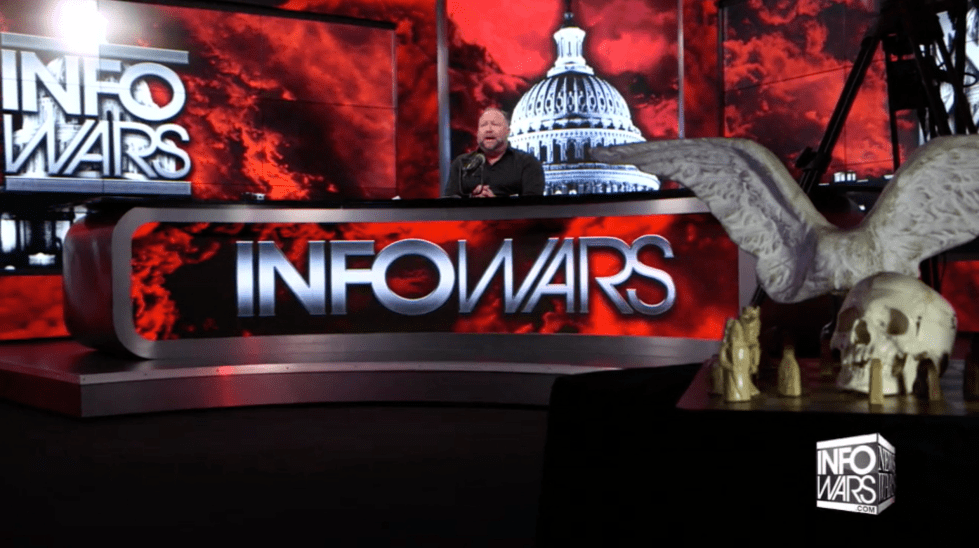 Alex Jones Infowars Studio The Resistance Video EXZM Zack Mount January 8th 2021
