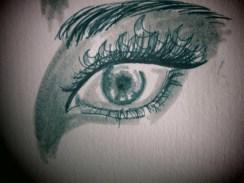 Day 64 9/13/13 Eye Crescent Makeup