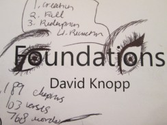 Day 354 6/30/14 Foundations...By David Knopp Eye