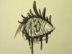 Day 215 2/11/14 Stress Eye Ball