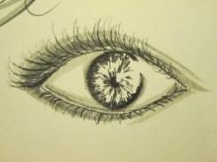 Day 268 4/5/14 Pen Eye