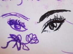 Day 281 4/18/14 Cousin Art/ My Art