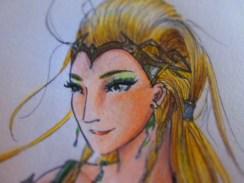 Day 318 5/25/14 Amora the Enchantress Eyes (Finished)