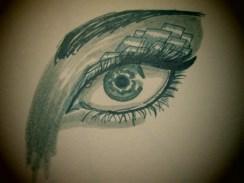 Day 337 6/13/14 Boxy Eye