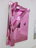 Philipp (2011), DIETER DETZNER (Plexiglass, Acrylique, 165 x 120 x 26 cm), Courtesy Galerie Gourvennec Ogor