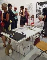 5. Galerie chantiers Boîte Noire / Montpellier – Paris : Kader Benchama, Christian Lhopital, Mirka Lugosi (Hôtel Baudon de Mauny 1 rue de la carbonnerie 34000 Montpellier, France T: +33 4 6766 2587 M: +33 6 8658 2562 info@leschantiersboitenoire.com www.leschantiersboitenoire.com) / © Laure JEGAT 2014