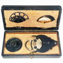 Parent Ophthalmoscope by Gilbert of Paris 1880