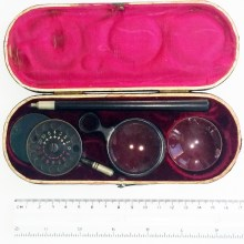 Wessely ophthalmoscope 1910