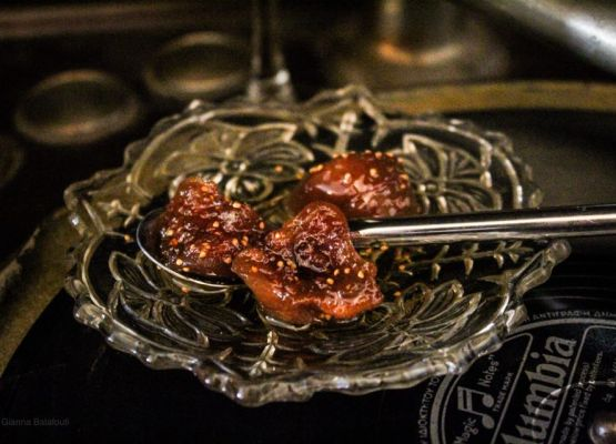 dried fig thick jam