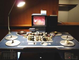 Moviola - table de montage de films 1990