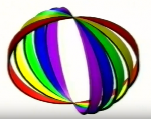 Opticom Logo in ASMR video