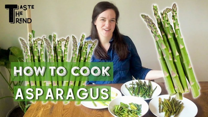 4 Best Ways to Cook Asparagus   #StayHome & Cook Like a Pro   EatingWell