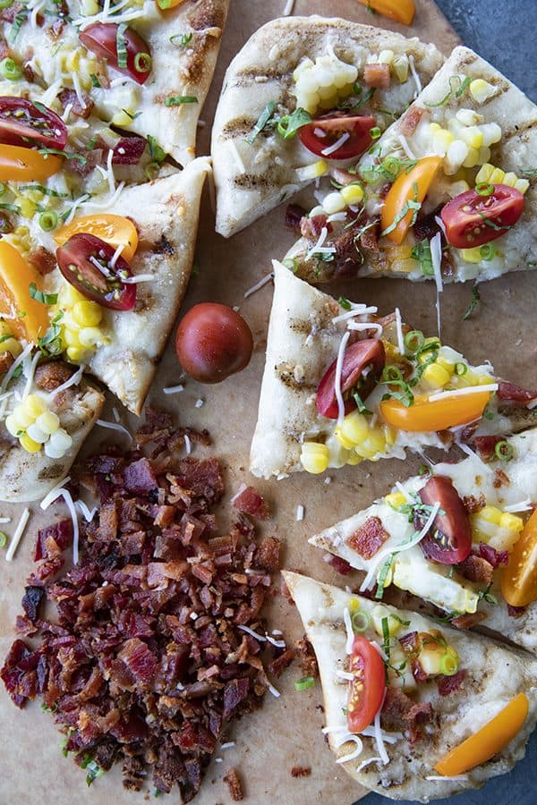 Corn and bacon Grilled Flatbread 3 600x900 1