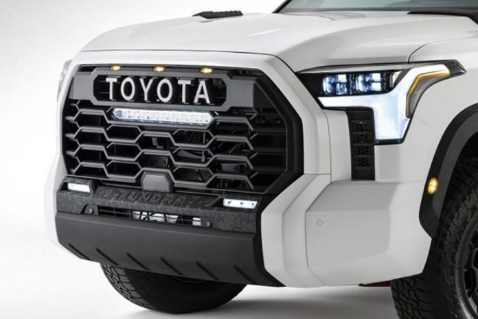 2022 toyota tundra grille