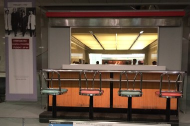 The infamous Greensboro lunch counter