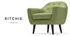 Ritchie armchair from made.com