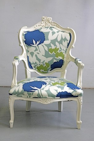 French Louis armchair from Wildchairy on etsy.com
