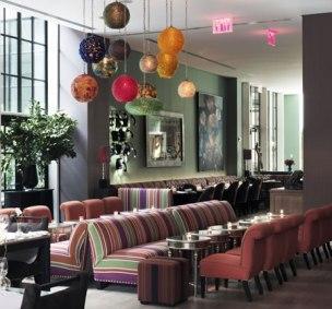 Crosby Street hotel designed by Kit Kemp
