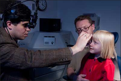 indirect ophthalmoscope photo