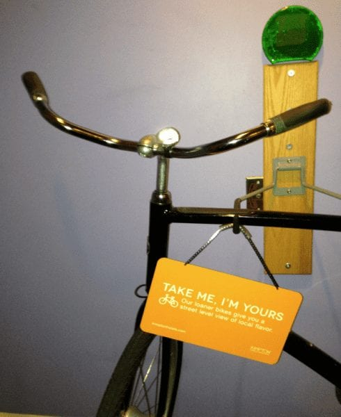 Complimentary Bike Service