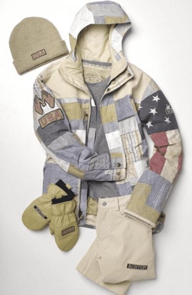 U.S. Olympic Snowboarding Team Uniform