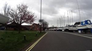River Medina Marina in Newport, Isle of Wight