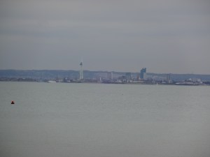 View of Portsmouth from Seaview.