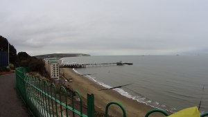 View of Sandown Pier