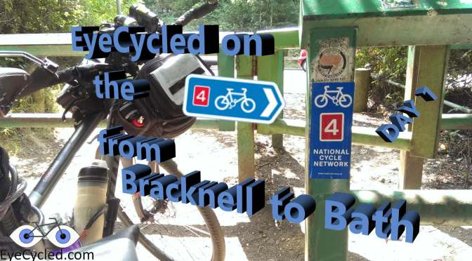 Bracknell to Bath on the National Cycling Route 4