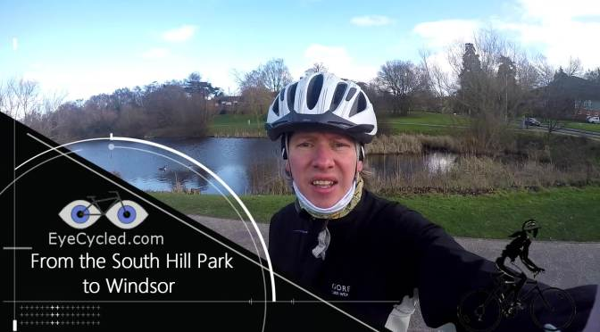 Ride from Bracknell's South Hill Park to Windsor