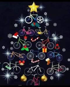 Bicycles Christmas Tree